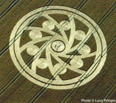 Crop Circle, thats scary. I have seen this in dreams.
