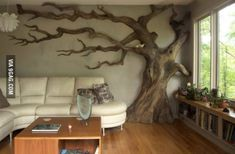 Cleverly made wall sculpture - So Cool!
