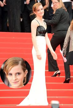 Emma Watsonat the 66th Annual Cannes Film Festival. 13 Hollywood and Fashion Style Stars - Best Dressed 5/16/2013 http://toyastales.blogspot.com/2013/05/13-hollywood-and-fashion-style-stars.html