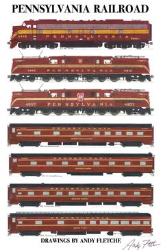 """The Pennsylvania Railroad was """"The Standard Railroad of the World.  Are you a fan of the PRR?"""