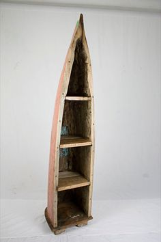 Fishing Canoe Bookcase
