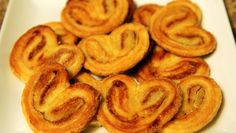 Palmiers or Elephant Ears - Recipe at: http://cookingwithalia.com/index.php?option=com_zoo&task=item&item_id=169&Itemid=110