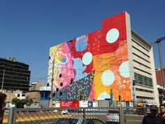 GREAT IDEA for exterior of studio ...inspriration from Hense New Mural In Lima, Peru StreetArtNews