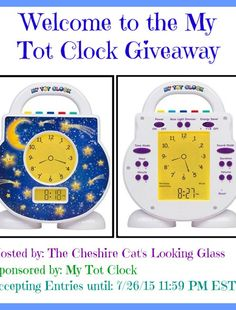 My Tot Clock Giveaway