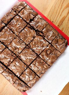 All you need is a box of your favorite brownie mix and a bag of your favorite chocolates to make these seemingly fancy Caramel Brownies.