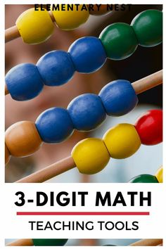 Check out these digital and hands-on tools to help students learn how to add and subtract within 1,000. From online games to interactive anchor charts to traditional base-ten blocks activities, you can help your students visualize and conceptualize 3-digit addition and 3-digit subtraction. Montessori Education, Montessori Activities, Kids Education, Toddler Activities, Learning Activities, Kids Behavior, Human Development, Help Teaching, Preschool Classroom
