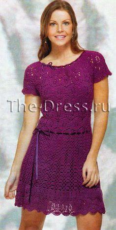 Lace dress, hosiery