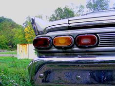 tail lights by pghgeorge, via Flickr