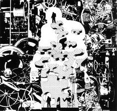 70s Sci-Fi Art: ungoliantschilde:   Repent Harlequin, said the...