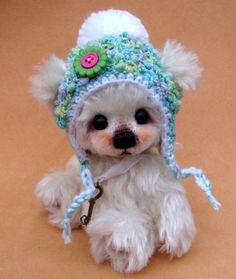 "Luciebears ""Mika"" Small Artist Bear OOAK 6"" | eBay"