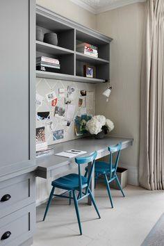 Desk Built ins | Bunny Turner and Emma Pocock of Tu...