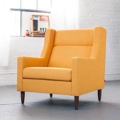 sofa bed heaven carmichael chair citrine yellow