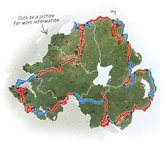 hike around Ireland: