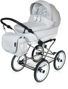 Classic pram Candy Silver 3 in 1 travel system Canopy Cover, Baby Prams, Travel System, Seat Pads, Baby Room Decor, New Product, Baby Shop, Diaper Bag, Baby Strollers