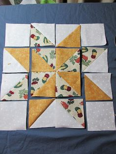 Evening Star Quilters: Variable Star Quilt Block ( inc See the source image This striking Scandinavian themed patchwork table runner in How to lay out your You Are Loved Heart Quilt pattern Quilt Square Patterns, Beginner Quilt Patterns, Quilt Patterns Free, Quilt Tutorials, Quilt Block Patterns 12 Inch, Patchwork Patterns, Patchwork Ideas, Crazy Patchwork, Canvas Patterns