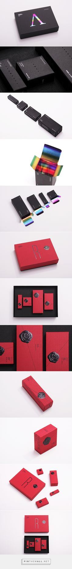 Project Charisma - Aurora & Ross packaging