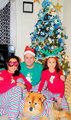 Holiday Stripe Pajamas for the Whole Family | #Pajamagram #ChristmasPajamas #Pajamas