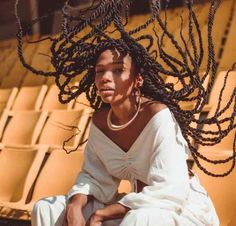 girl women cool female model Protective Hairstyles For Natural Hair, Natural Hair Updo, Natural Hair Styles, Long Hair Styles, Putting Outfits Together, Artistic Photography, Protective Styles, Dark Skin, Female Models