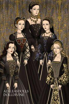 Www.dolldivine.com/thetudors Tudor Dress, My Little Pony Princess, Tudor Fashion, Doll Divine, Lady Mary, Princess Collection, Barbie, Doll Costume, Movie Costumes