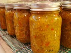 canning squash relish this is the best stuff for beans