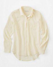 Silk Shirttail Blouse