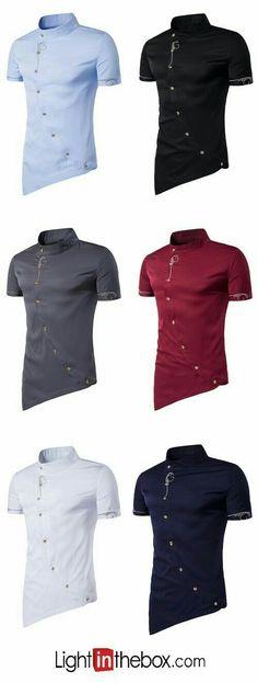 Cheap Mens Shirts, Mens Shirts Online, Indian Men Fashion, Latest African Fashion Dresses, Men's Fashion, African Shirts, African Wear, Kurta Men, Well Dressed Men