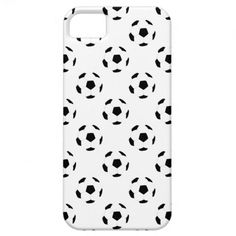 Soccer Ball Pattern iPhone 5 Case