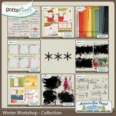 Winter Workshop Collection :: Gotta Grab It :: Gotta Pixel Digital Scrapbook Store by Across The Pond