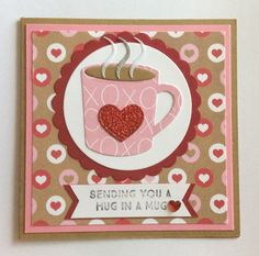 card cup mug mugs MFT hot coco cups Die-namics #mftstamps Hug in a Mug heart hearts