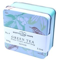 Scottish fine soaps, Green Tea, Soap in a Tin, 100 g Scottish Fine Soaps http://www.amazon.de/dp/B00IBZ9PXO/ref=cm_sw_r_pi_dp_lrl8ub1V6D6HN