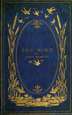 Antique Book Cover ~ The Bird