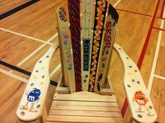 Daren White (Nova Scotia)  Candy Chair