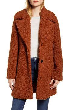 Enjoy exclusive for Sam Edelman Faux Fur Teddy Coat online - Featuredtopbuy Teddy Coat Womens, Checkered Trousers, Maternity Jacket, Best Wear, Double Breasted Coat, Leggings Fashion, Winter Coat, Coats For Women, Mantel