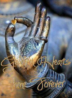 golden hearts shine forever ♥ bluebelleke