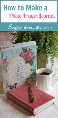 Make a Family Photo Prayer Journal with free printables.