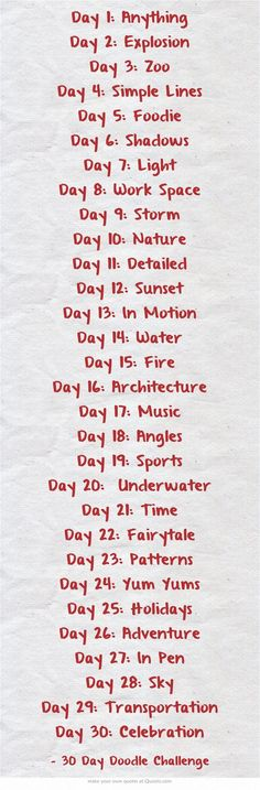 Drawing challenge can you do these ?? I think I will try to do these.
