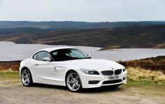Alpine White BMW Z4