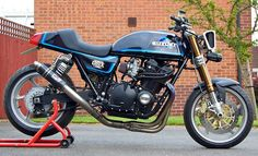 RE-PIN IT!  Cafe Racer Design SourceSuzuki GSX1100 @Matty Chuah Official Cafe Racer Design