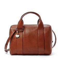 Shop Online for Slim & Thin Watches, Handbags, Wallets, Jewelry & More - Skagen Handbag Organization, Skagen, Leather Accessories, Leather Satchel, Pantone, Handbags, Wallet, My Style, Brown