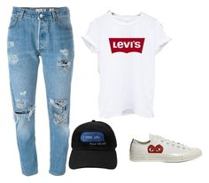 """""""46"""" by ddaisiee on Polyvore featuring Levi's and Comme des Garçons"""