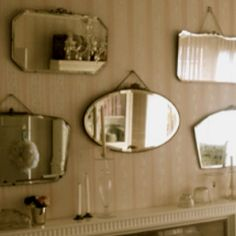 Mirror mirror on the wall... I better start collecting vintage mirrors!