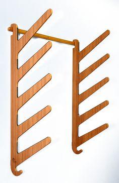 Free Standing Wooden Surfboard Racks In Solid Pine