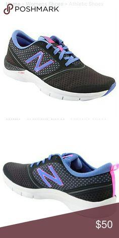 New Balance WX711SP Womens 11 Dark Grey /Blue Training Sneakers