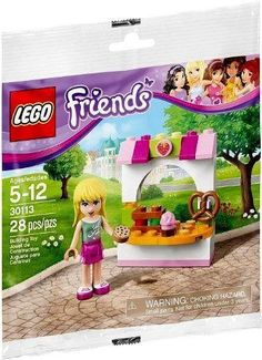 LEGO Friends Stephanie's Bakery Stand 30113 (28 Pieces) LEGO http://www.amazon.com/dp/B00II5HUSE/ref=cm_sw_r_pi_dp_HAsvwb07FPPN8