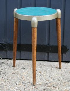 Rare Collapsible Stool By Gerald Summers