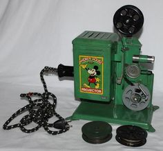"DISNEY1930's Mickey Mouse""Keystone""Movie Projector ..how cool is this!!"