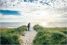 After Wedding Shooting Sylt – Paarfotos am Strand