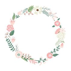 Get Floral Frame. Cute Retro Flowers Arranged Un A Shape Of The Wreath Perfect For Wedding Invitations And Birthday Cards royalty-free stock image and other vectors, photos, and illustrations with your Storyblocksmembership. Flower Invitation, Floral Wedding Invitations, Retro Flowers, Vintage Flowers, Pink Flowers, Flower Frame, Flower Art, Flower Circle, Flower Ideas