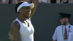 6/29/15 #YEAH_VEE! ... Live Tennis:  #VenusWilliams is back at Wimbledon! She beats compatriot Brengle 6-0, 6-0 in just 42 minutes. Could meet Serena in R16.