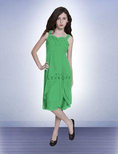 Junior Bridesmaid Dress Style 56102 - Kelly Green